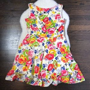 Betsey Johnson Floral A Line Dress
